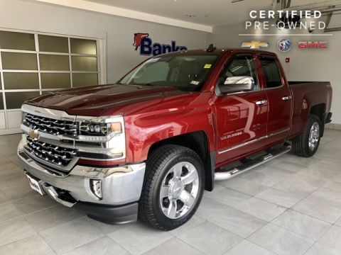 Certified Pre-Owned 2016 Chevrolet Silverado 1500 4WD Double Cab Standard Box LTZ