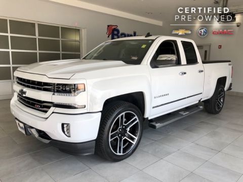 "Certified Pre-Owned 2016 Chevrolet Silverado 1500 4WD Double Cab 143.5"" LTZ"