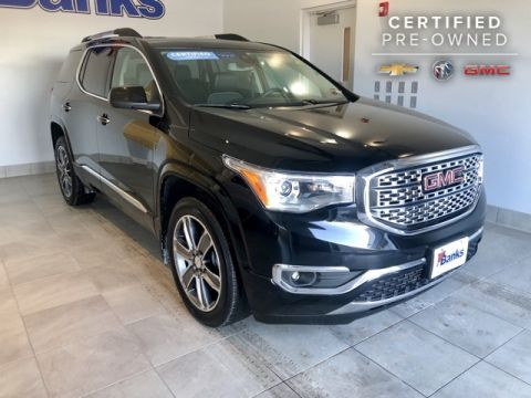 Certified Pre-Owned 2017 GMC Acadia AWD Denali