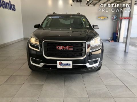 Certified Pre-Owned 2016 GMC Acadia AWD 4dr SLE w/SLE-1