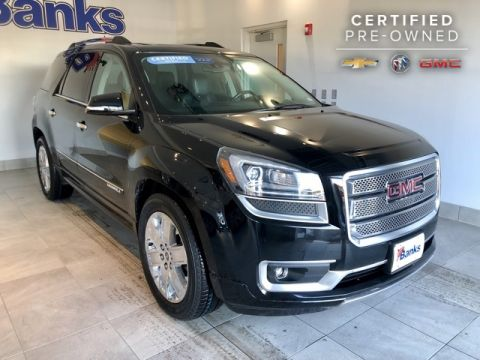 Certified Pre-Owned 2016 GMC Acadia AWD 4dr Denali