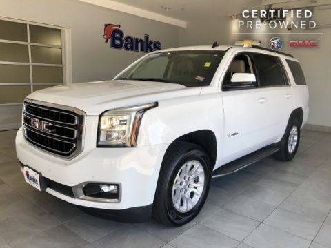 Certified Pre-Owned 2015 GMC Yukon 4WD 4dr SLE