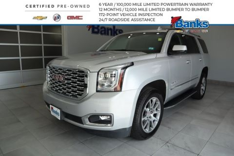 Certified Pre-Owned 2018 GMC Yukon Denali
