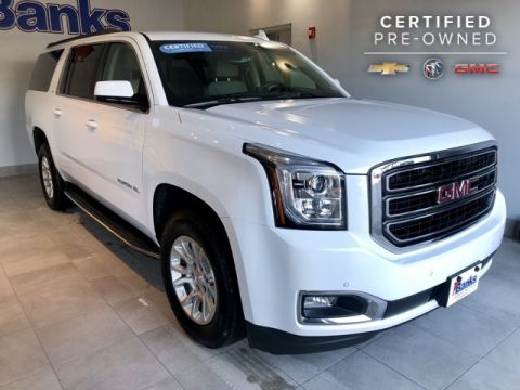 Certified Pre-Owned 2018 GMC Yukon XL 4WD SLT