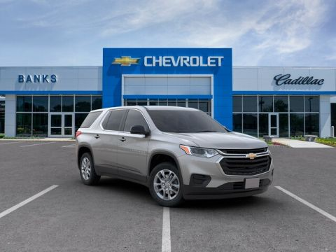 New 2019 Chevrolet Traverse AWD LS