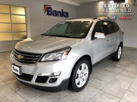 Certified Pre-Owned 2016 Chevrolet Traverse AWD LT