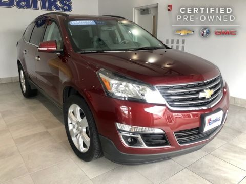 Certified Pre-Owned 2016 Chevrolet Traverse AWD 4dr LT w/1LT