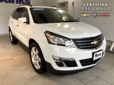 Certified Pre-Owned 2017 Chevrolet Traverse AWD LT