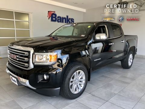 Certified Pre-Owned 2016 GMC Canyon 4WD Crew Cab SLT