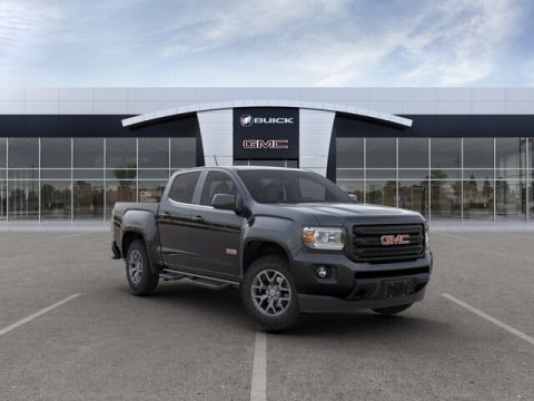 "New 2019 GMC Canyon 4WD Crew Cab 128.3"" All Terrain w/Leather"