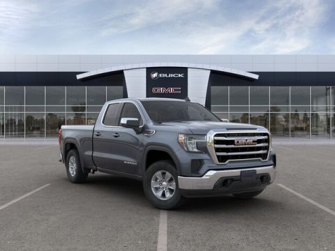"New 2019 GMC Sierra 1500 4WD Double Cab 147"" SLE"