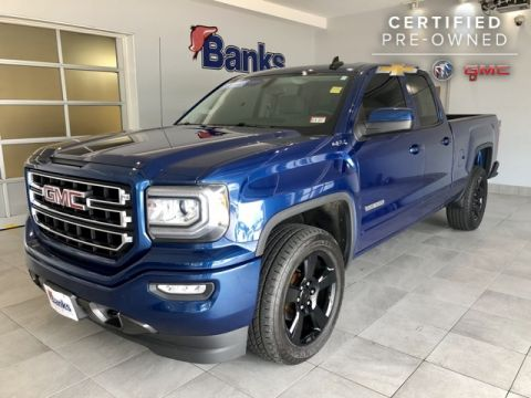 Certified Pre-Owned 2016 GMC Sierra 1500 4WD Double Cab Standard Box