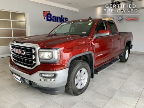 "Certified Pre-Owned 2016 GMC Sierra 1500 4WD Double Cab 143.5"" SLE"