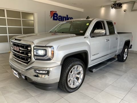 "Certified Pre-Owned 2016 GMC Sierra 1500 4WD Double Cab 143.5"" SLT"