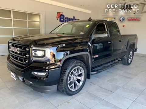 "Certified Pre-Owned 2017 GMC Sierra 1500 4WD Double Cab 143.5"" SLT"