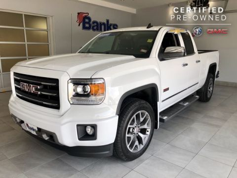 Certified Pre-Owned 2015 GMC Sierra 1500 4WD Double Cab Standard Box SLE