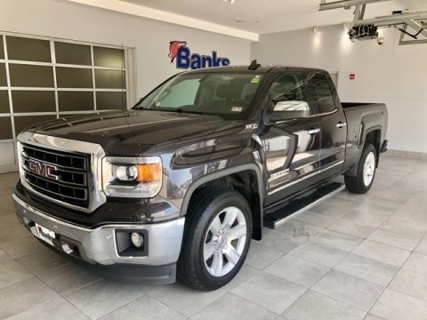 Pre-Owned 2015 GMC Sierra 1500 4WD Double Cab Standard Box SLT