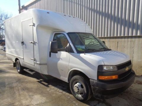 New 2018 Chevrolet Express 3500 3500 Van 159""