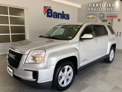 Certified Pre-Owned 2017 GMC Terrain AWD SLE-1