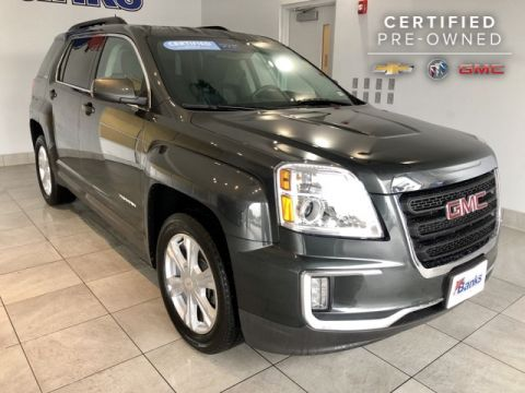 Certified Pre-Owned 2017 GMC Terrain AWD 4dr SLE w/SLE-2