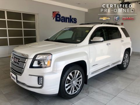 Certified Pre-Owned 2016 GMC Terrain AWD Denali