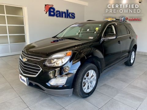 Certified Pre-Owned 2017 Chevrolet Equinox AWD 4dr LT w/1LT