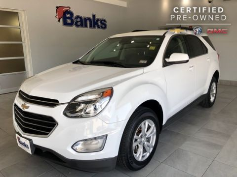 Certified Pre-Owned 2016 Chevrolet Equinox AWD LT