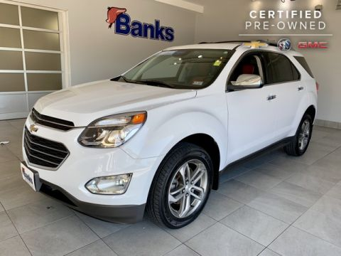 Certified Pre-Owned 2017 Chevrolet Equinox AWD 4dr Premier