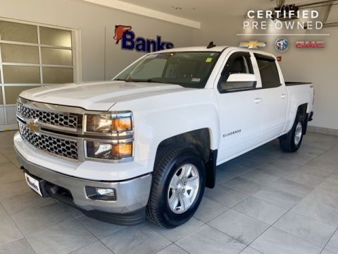 Certified Pre-Owned 2015 Chevrolet Silverado 1500 4WD Crew Cab LT