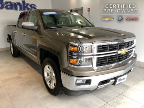 Certified Pre-Owned 2014 Chevrolet Silverado 1500 4WD Crew Cab Short Box LTZ Z71