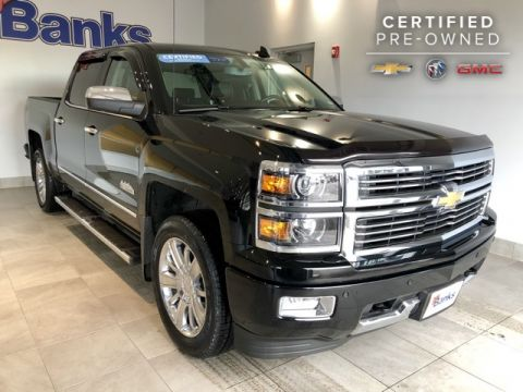 Certified Pre-Owned 2015 Chevrolet Silverado 1500 4WD Crew Cab Short Box High Country