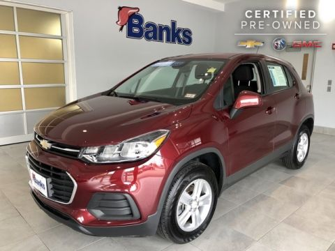Certified Pre-Owned 2017 Chevrolet Trax AWD LS