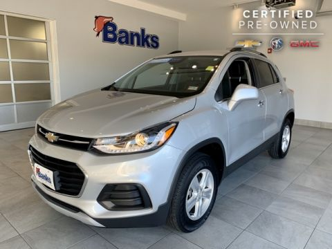 Certified Pre-Owned 2017 Chevrolet Trax AWD 4dr LT