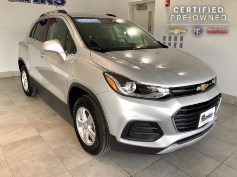 Certified Pre-Owned 2018 Chevrolet Trax AWD LT