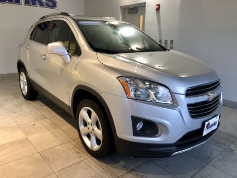 Certified Pre-Owned 2016 Chevrolet Trax AWD 4dr LTZ