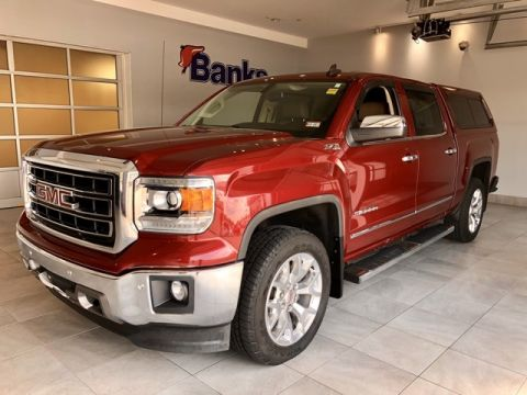 Pre-Owned 2015 GMC Sierra 1500 4WD Crew Cab Short Box SLT