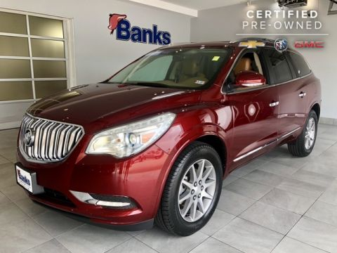 Certified Pre-Owned 2017 Buick Enclave AWD 4dr Leather