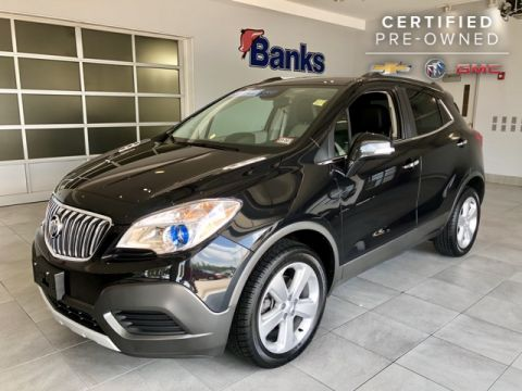Certified Pre-Owned 2015 Buick Encore AWD 4dr