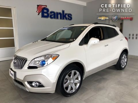 Certified Pre-Owned 2016 Buick Encore AWD Leather