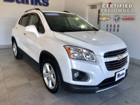 Certified Pre-Owned 2016 Chevrolet Trax AWD LTZ