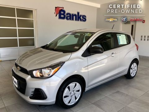 Certified Pre-Owned 2018 Chevrolet Spark Hatch LS