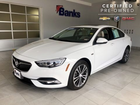 Certified Pre-Owned 2018 Buick Regal AWD Preferred II